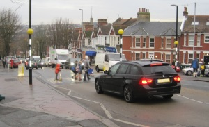 Safe on the roads? Why not 20 mph where children are going to school?