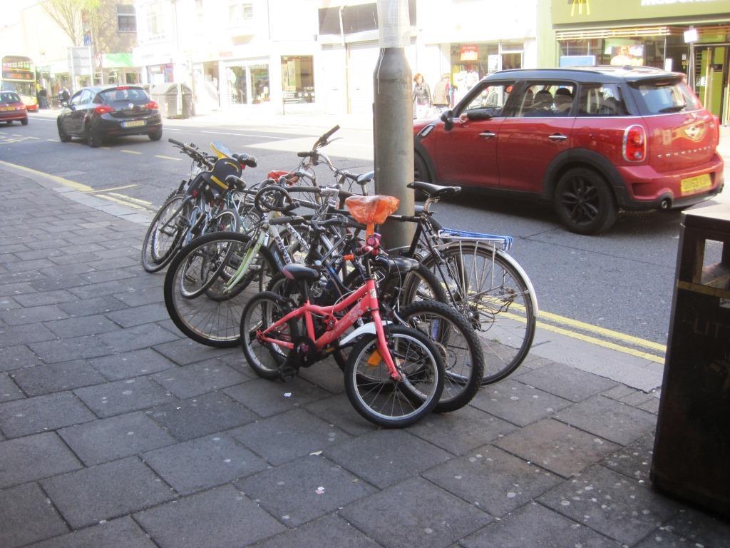 Bike Parking Bricycles
