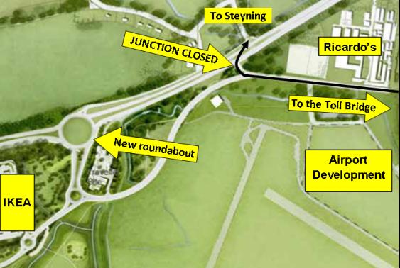 New Monks Farm overview